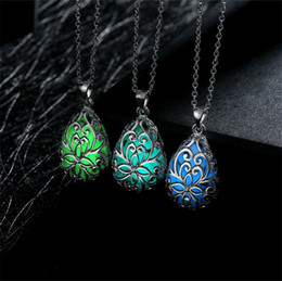 Wholesale Fluorescent Chain Necklace - 10PCS  Lot Free shipping Wholesale 925 Sterling Silver Plated Fashion women fluorescent Pendants Necklace GN007