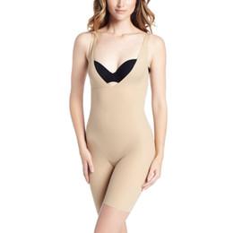 7ef1539c1769d Wholesale-Women One Piece Bodysuits Shaperwear Solid Black Skin Color Butt  Lifter with Tummy Control Underwear Lingerie Shapewear
