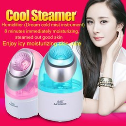 Wholesale Sauna Facial Wholesale - Nano humidifier facial vaporizer steamer Skin Care vapor Facial Whitening Moisturizing Exfoliating sauna facial vaporizador