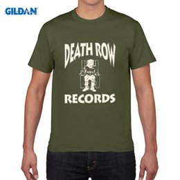 Wholesale Red Shirt Guy - DEATH ROW RECORDS SNOOP DRE GANGSTER RAP CLASSIC SUGE KNIGHT 90S COMPTON blue shirt china tee shirts Size cotton nice for guys