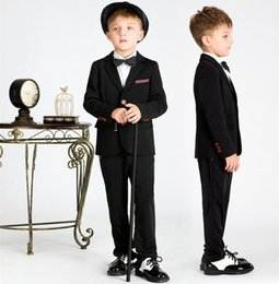 Wholesale Baby Blue Tuxedo Jacket - Male Baby Formal Dresses Tuxedos With Best Quality and Design Free Shipment (Jacket+Pants+Vest+Bowtie)