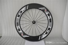 Wholesale Carbon Clincher 29er - 2016 New Arrival HED Road Bike Bicycle Carbon Wheels Clincher Wheelset Tubular 88mm White Decals 700C Glossy Mate Weave 29er Track Wheels