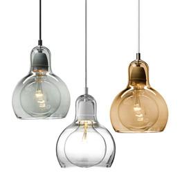 Wholesale mega light - NEW tradition Mega Bulb SR1 SR2 Pendant Lamp Single head small glass Chandelier 3 colors freeshipping
