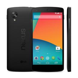 Wholesale Lg Nexus Accessories - 100% Original Google LG Nexus 5 D820 D821 Mobile Phone Quad Core 2GB 16GB 3G WCDMA Refurbished Unlocked PHONE