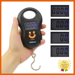 Wholesale Retail Ready - 10g 50kg Digital Scale Electronic Hanging Fishing Luggage Pocket Portable Digital Weight Scale with Retail Box