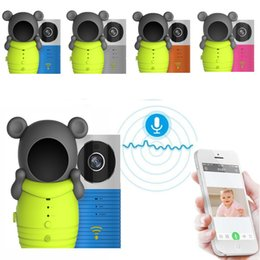 Wholesale Security Camera Nightvision - 720 ip camera wifi baby monitors IR Night vision Intercom PIR Motion Detection wifi security camera baby monitors for iOS Android