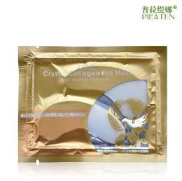 Wholesale Collagen Mask For Eyes - PILATEN Crystal Collagen Eye Mask Anti-puffiness Dark Circle Anti Wrinkle Moisture For Eyes Care Brands Masks DHL Free