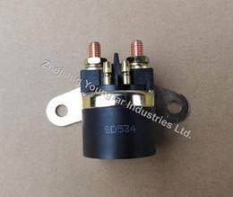 Wholesale Starter Relay Solenoid - Starter Solenoid Starter Relay for Motorcycle GN125 GS125 EN125 DR250 DR650 GS500 GS450 LS650 GSX600 GSX750 LTF250 LTF300 VS1400