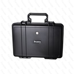 Wholesale Tool Equipment Cases - Wonderful ABS Case VS Pelican Waterproof Safe Equipment Instrument Box Moistureproof Locking For Gun Tools Camera Laptop VS Ammo Alumin