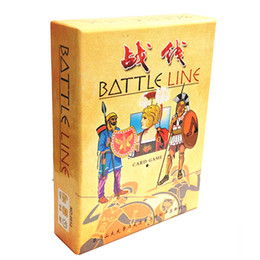 Wholesale Paper Line - Battle Line Board Game 2 Players To Play English Chinese Version Easy Play and Funny Card Game Send English Instructions