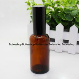 Wholesale China Empty Bottle - Hot Sale China 50ml Brown Glass Spray Bottles Refillable Perfume Empty Bottles Wholesale 50ml Essential Oil Glass Bottle On Sale
