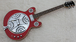 Wholesale Semi Acoustic Electric Guitars - Free shipping 2016 Brand New High Quality Acoustic electric Resonator guitar