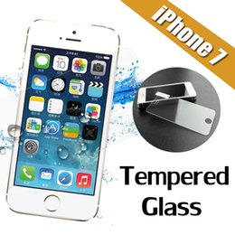 Wholesale Iphone 4s Scratch Guard - 9H Hardness Premium Tempered Glass Screen Protector Film Guard For iPhone 7 Plus 6S Plus SE 5S 4S Samsung Galaxy A8 A9 J7 J710 MOQ:10pcs