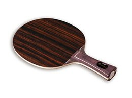 Wholesale Pingpong Blades - Stiga EBENHOLZ 7 table tennis blade pingpong racket  bat rubber long (FL)  short(CS) handle shakehand