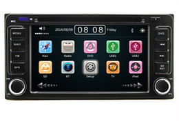 Wholesale X Radio Tuner - Universal 2Din Toyota 200 X 100 Car DVD Player GPS Navigation for Terios Old hilux land cruiser Corolla Camry Prado RAV4