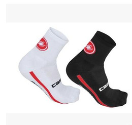 Wholesale Bike Bicycle Road - New Brands Unisex black Cycling Socks High elasticity elastic road bike bicycle durable breathable socks