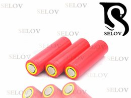 Wholesale Rechargeable Battery Sanyo - Hot discharge recheargeable batteries, SANYO 18650-nsx, 2600mAH continuous discharge current, 20A flat topped power battery, protected, with