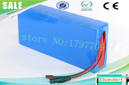 Caso elettrico della batteria della bici online-US EU no tax Spedizione gratuita 36v 10ah bici elettrica batteria Li-ion Battery Case in PVC con caricabatterie 20A BMS +