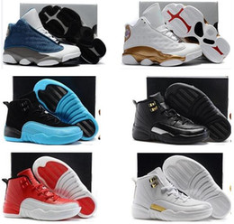 Wholesale Children Sizes - Air 11 12 13 Kids Shoes Children J13s Basketball Shoes High Quality Sports Shoes Youth Sneakers For Sale Size: US11C-3Y EU28-35