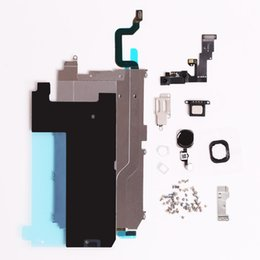 Wholesale Ems Dhl Bar - Free by DHL Or EMS For iphone 6 Full LCD Display Repair Parts Front Camera Earpiece Speaker Plate home button flex cable