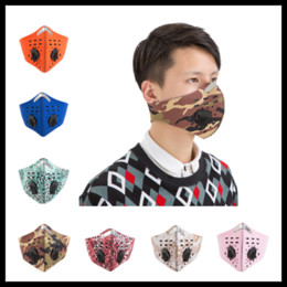 Wholesale Training Face - Dust-proof Cycling Mask With Activated Carbon Filter Anti PM2.5 Half Face Masks for Sports Training Running Skiing Cycling