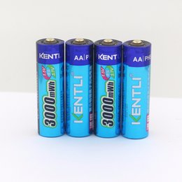 Wholesale Kentli Lithium - Batteries Rechargeable Batteries NEW 8pcs KENTLI 1.5v 3000mWh rechargeable Lithium AA PH5 battery+1 charger kentli 1.5v