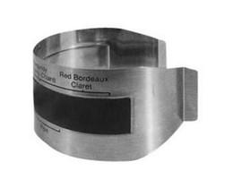 Termometri del vino online-Termometro bracciale vino in acciaio inossidabile (4--24'C), sensore di temperatura per vino rosso per l'homebrewing della birra