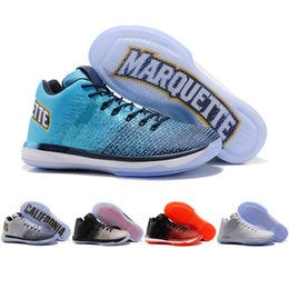 Wholesale California Leather - 2017 New Arrival Retro XXXI Low California Michigan George 31s Basketball Shoes for Mens Top Quality Retro 31 Training Sports Sneakers