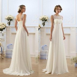 Empire Waist Style Wedding Dresses Canada | Best Selling Empire ...