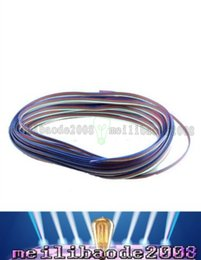 Wholesale Rgb Strip Wire 4pin - NEW 4pin cable led accessaries use for 5050 3528 RGB led strip connect cable RGB 4PIN Connecting Cable Wire FREE SHIPPING MYY