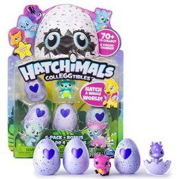 Wholesale Smart Eggs - Hatching Eggs Interactive Cute Fantastic Growing Hatchimals Chrismas Gifts for Kids, Smart Toys for Children Education 4 PCS