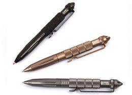 2019 bolígrafos tácticos laix LAIX B2 Tactical Pen Defense pluma Herramienta Cooyoo Aviación Aluminio antideslizante Herramienta Portátil de Supervivencia Pluma Multifuncional Herramienta de Camping bolígrafos tácticos laix baratos