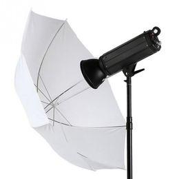 Wholesale Umbrella Photography Light - Wholesale Photo Studio Accessories Video Umbrella Camera Soft 33 Inch 83cm Photography Pro flash Lighting Translucent White