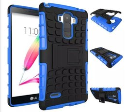 Wholesale Optimus Pc - Mobile Phone Protection Shell For LG TPU+PC Case For LG Optimus G3 D856 D857 D855 Cover 2 In 1 Support Cases For LG G3 Customized Hot Sale