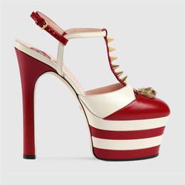 Scarpe impermeabili scarpe donna online-2017 donne alla moda pompe tacchi alti plus size 34-43 cristallo abito da sposa scarpe 15 cm impermeabile sexy nighclub partito scarpe tacchi alti