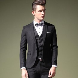 Wholesale Wool Shawl For Wedding Dress - 2016 Custom made groom tuxedos men's dress Color process Shawl collar classic groom tuxedos  wedding suits for men Slim Fit Men tuxedo