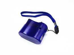 Wholesale Dynamo Cell - Portable Wind UP Dynamo Hand Crank USB PDA for MP3 Cell Phone Emergency Charger