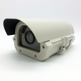 Wholesale Cctv Covers - CCTV Box Array LED Light Camera Housing Outdoor Protect Case Waterproof Aluminium Alloy Case Cover