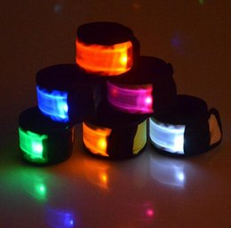 Outdoor safety lighting canada best selling outdoor safety led wristbelt armband arm belt flashing glowing armband belt cheer party night bars outdoors sporst cycling safety armband lights aloadofball Image collections