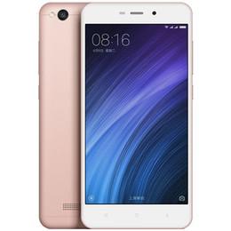 Wholesale Miui Rom - Original Xiaomi Redmi 4A 4G LTE Mobile Phone Snapdragon 425 Quad Core 2GB RAM 16GB ROM MIUI 8 5.0inch 13.0MP Camera Cell Phone