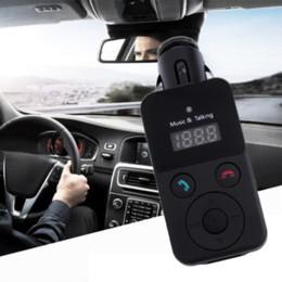 Télécommande bluetooth bon marché en Ligne-Chaude Mains Libres Bluetooth Kit Voiture Transmetteur FM USB SD Carte Lecteur MP3 avec Télécommande Pas Cher lecteur radio radio lecteur