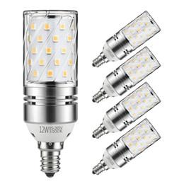 Ampoules à bougies décoratives en Ligne-8W 12W 16W ampoules à bulles LED E12 E14 E26 E27 Ampoules Candélabres à LED 100W ÉLECTRO LED Lustres Ampoules Lampe à bougies décorative AC 85-265V