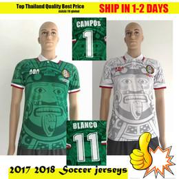 Wholesale Uniforms Dhl - Wholesale 1998 MEXICO RETRO VINTAGE BLANCO soccer jerseys uniforms Football Jerseys shirt Embroidery Logo camiseta futbol +10 free DHL