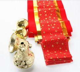 Wholesale Bells Stores - New Christmas flag Christmas decorations hanging flag wave flags pull flag supermarket store bar decoration Include bell ring JF-328