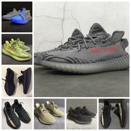 Wholesale Green Shoes Bag - Double Box + Bags + Receipt Boost 350 Boost V2 Beluga 2.0 Sply-350 Zebra Men Women Running Basketball Shoes Kanye West Boost 350 Size US5-13
