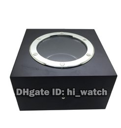 Wholesale Cheap Wooden Box - New Cheap CLASSIC FUSION BIG BANG KING POWER SPIRIT OF BIG BANG limited edition Glass Sunroof Black Watch Wooden Box With Certificate Papers
