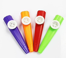 kazoo en plastique Promotion 2016 5 couleur Kazoo Musical Jouet Kazoo En Plastique Conception Enfants Kid Cadeau Jouet Musical Instrument livraison gratuite