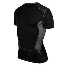 Canada Chemise de compression en gros à séchage rapide pour hommes, couche de base, collection supérieure de vêtements de sport, collection étanche E32 cheap gear for sports wholesale Offre