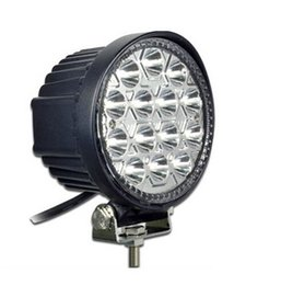 Wholesale Motorcycle Fire - New 42W 14x LEDs Work Light Car   Truck   4WD Offroad   SUV   ATV Lamp DC 10-30V Suitable for Car, motorcycle, fire engine etc