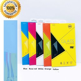 Wholesale Empty Packaging Box - Empty Retail Package Boxes Packaging For Premium Tempered Glass 9H Screen Protector For iphoneX 8 Plus 7 Plus Samsung Note8 91819